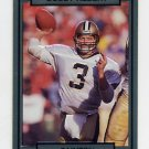 1990 Action Packed Football #172 Bobby Hebert - New Orleans Saints