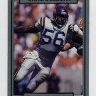 1990 Action Packed Football #153 Chris Doleman - Minnesota Vikings