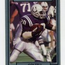 1990 Action Packed Football #101 Albert Bentley - Indianapolis Colts