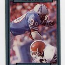 1990 Action Packed Football #100 Mike Rozier - Houston Oilers