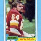 1981 Topps Football #522 Ron Saul - Washington Redskins