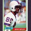 1981 Topps Football #521 Jerry Butler - Buffalo Bills
