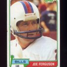 1981 Topps Football #503 Joe Ferguson - Buffalo Bills