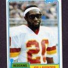 1981 Topps Football #474 Joe Lavender - Washington Redskins