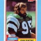 1981 Topps Football #439 John Bunting - Philadelphia Eagles
