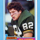 1981 Topps Football #353 Paul Coffman - Green Bay Packers