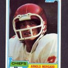 1981 Topps Football #266 Arnold Morgado - Kansas City Chiefs