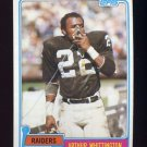 1981 Topps Football #161 Arthur Whittington - Oakland Raiders