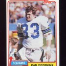 1981 Topps Football #048 Dan Doornink - Seattle Seahawks