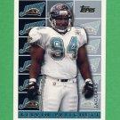 1995 Topps Football #466 Kelvin Pritchett - Jacksonville Jaguars