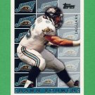 1995 Topps Football #458 Shawn Bouwens - Jacksonville Jaguars