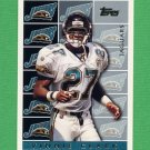 1995 Topps Football #456 Vinnie Clark - Jacksonville Jaguars