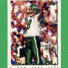 1995 Topps Football #416 Nick Lowery - New York Jets
