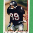 1995 Topps Football #413 Darryl Talley - Atlanta Falcons