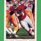 1995 Topps Football #412 Dana Stubblefield - San Francisco 49ers