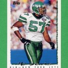 1995 Topps Football #385 Mo Lewis - New York Jets