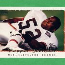 1995 Topps Football #368 Pepper Johnson - Cleveland Browns