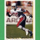 1995 Topps Football #365 Aeneas Williams - Arizona Cardinals