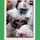 1995 Topps Football #328 Aubrey Beavers - Miami Dolphins
