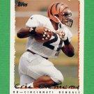 1995 Topps Football #327 Eric Bieniemy - Cincinnati Bengals