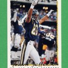 1995 Topps Football #272 Shawn Jefferson - San Diego Chargers