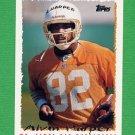 1995 Topps Football #245 Alvin Harper - Tampa Bay Buccaneers