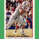 1995 Topps Football #171 Pat Harlow - New England Patriots
