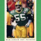 1995 Topps Football #156 Fred Strickland - Green Bay Packers