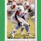 1995 Topps Football #144 Michael Barrow - Houston Oilers