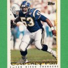 1995 Topps Football #099 Courtney Hall - San Diego Chargers