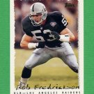 1995 Topps Football #097 Rob Fredrickson - Oakland Raiders