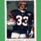1995 Topps Football #086 Steve Broussard - Cincinnati Bengals