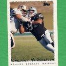 1995 Topps Football #073 Chester McGlockton - Oakland Raiders