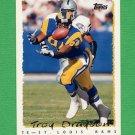 1995 Topps Football #056 Troy Drayton - St. Louis Rams