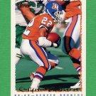 1995 Topps Football #045 Glyn Milburn - Denver Broncos