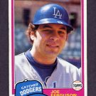 1981 Topps Baseball #711 Joe Ferguson - Los Angeles Dodgers Ex
