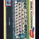 1981 Topps Baseball #669 Minnesota Twins Team Checklist / John Goryl MG