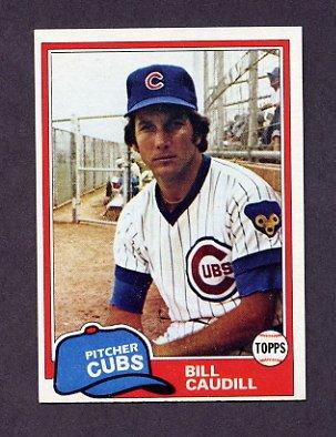 1981 Topps Baseball #574 Bill Caudill - Chicago Cubs