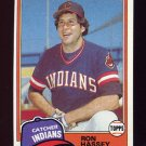 1981 Topps Baseball #564 Ron Hassey - Cleveland Indians NM-M