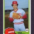 1981 Topps Baseball #546 Paul Moskau - Cincinnati Reds NM-M