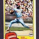 1981 Topps Baseball #348 Bob Sykes - St. Louis Cardinals