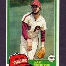 1981 Topps Baseball #346 Larry Christenson - Philadelphia Phillies