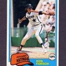 1981 Topps Baseball #269 Ken Forsch - Houston Astros NM-M