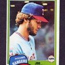 1981 Topps Baseball #197 Jim Kern - Texas Rangers