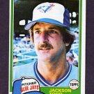 1981 Topps Baseball #142 Jackson Todd - Toronto Blue Jays
