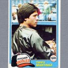 1981 Topps Baseball #119 Tippy Martinez - Baltimore Orioles ExMt
