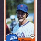 1981 Topps Baseball #058 Joel Youngblood - New York Mets ExMt