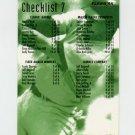 1995 Fleer Baseball #600 Checklist 7