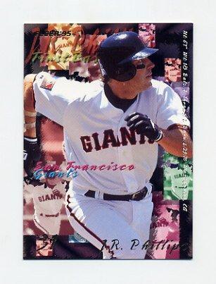 1995 Fleer Baseball #586 J.R. Phillips - San Francisco Giants