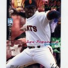 1995 Fleer Baseball #581 Mike Jackson - San Francisco Giants
